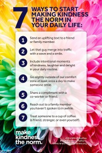 World Kindness Day, 7 Ways